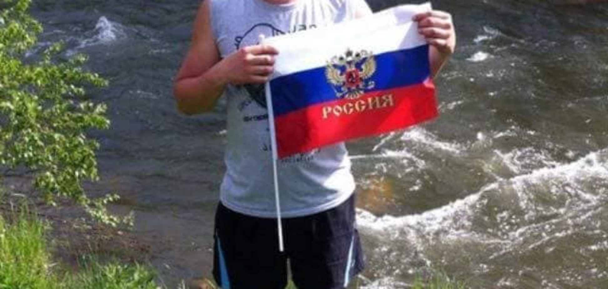 Кричить 'укропи передасти': в мережі зробили відомим сепаратиста з Донбасу