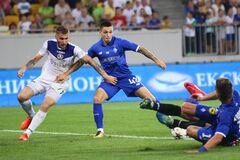 'Динамо' на последних секундах добыло победу над новичком Премьер-лиги