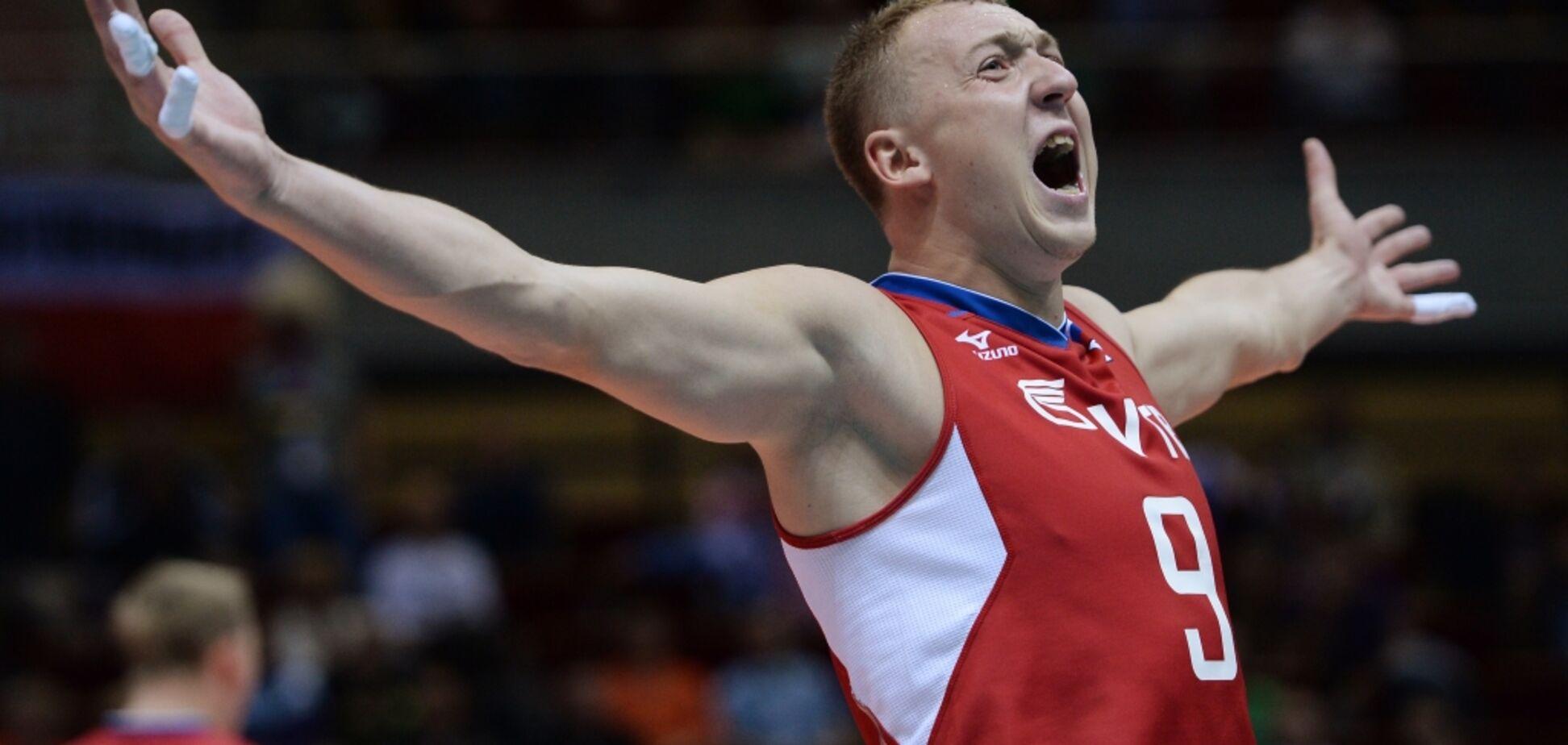 'Обіграли арабів і на тобі значок': титулований російський волейболіст розкритикував скандальне рішення Мінспорту