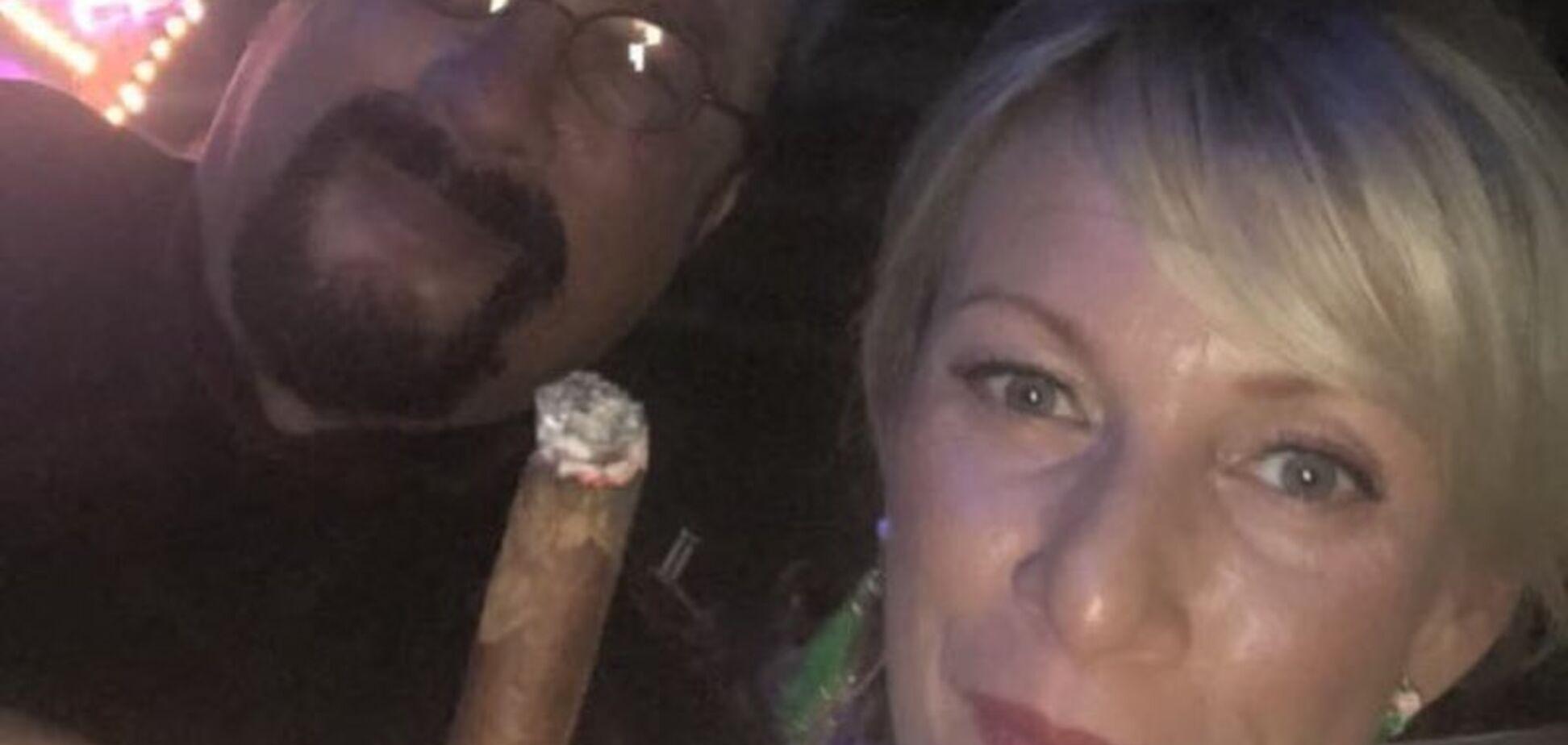 'Шкода мужика': в мережі висміяли фото Захарової з голлівудським актором