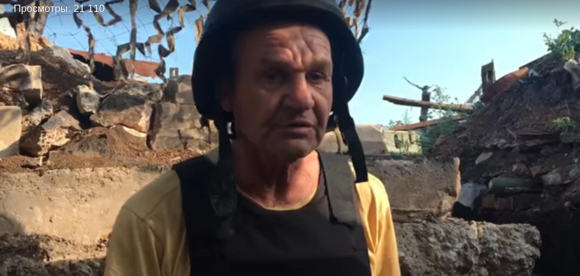 Растит сыновей и пишет стихи: сеть восхитил пенсионер-защитник Украины