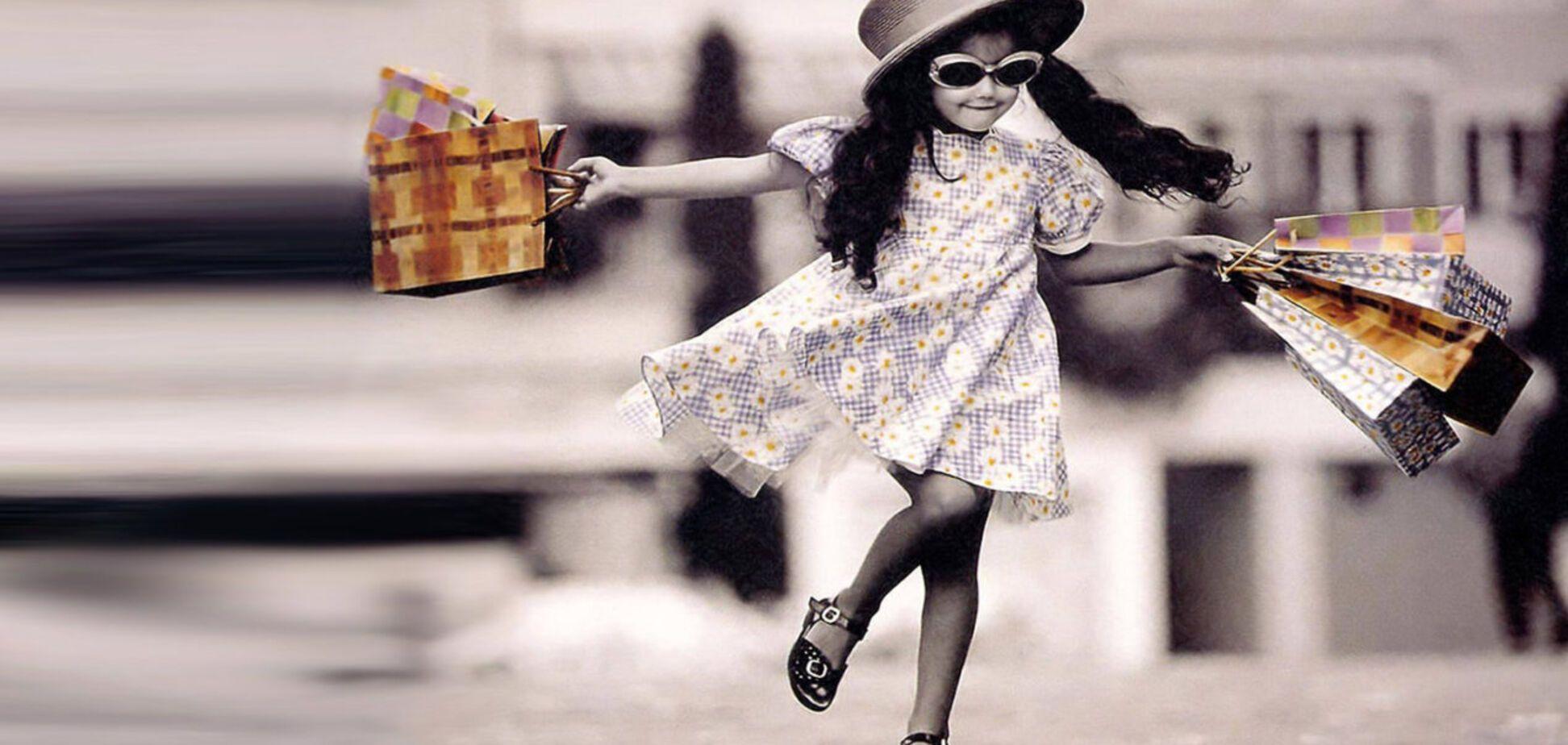 шопинг девочка магазин. Источник: Google Images