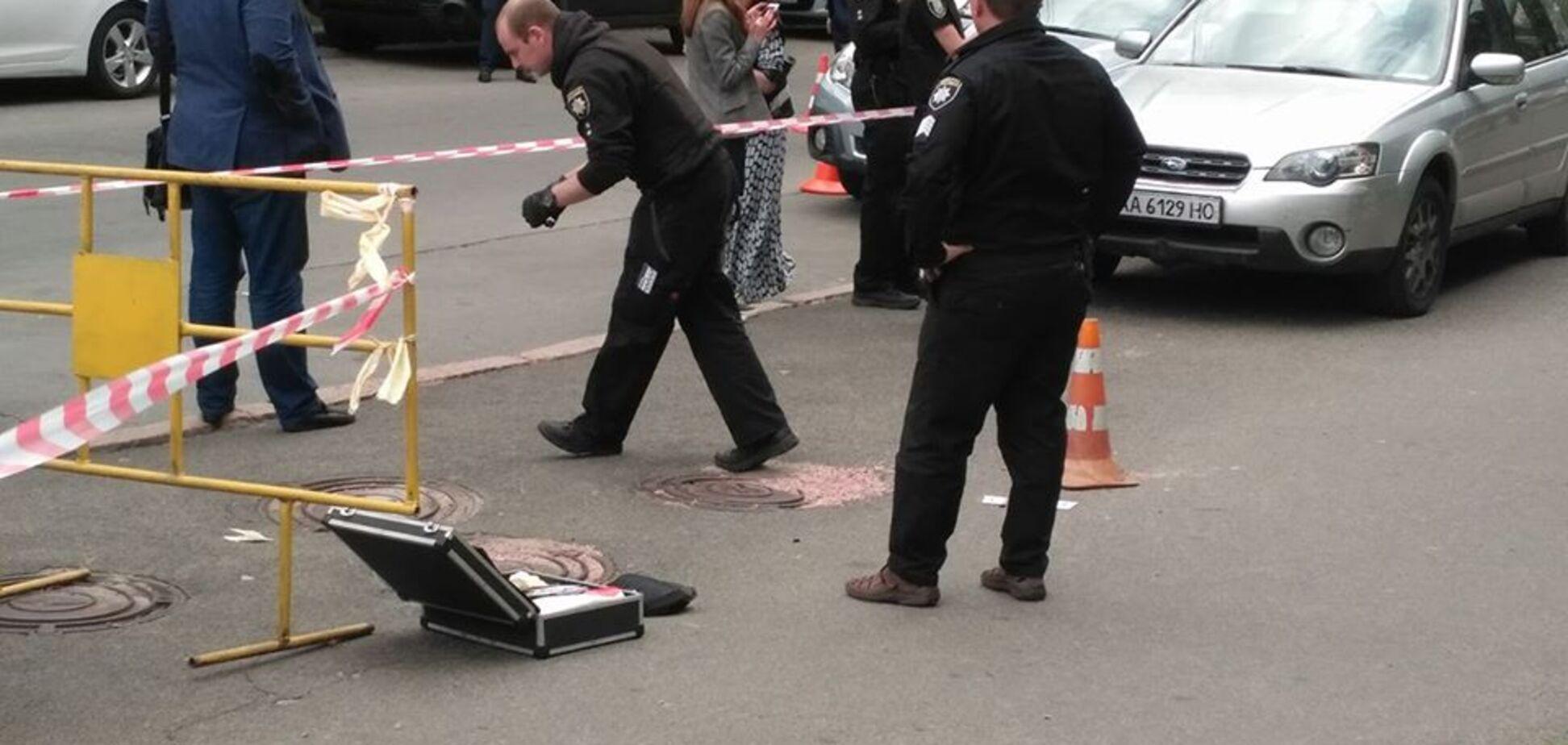 У центрі Києва розстріляли людину: подробиці, фото і відео
