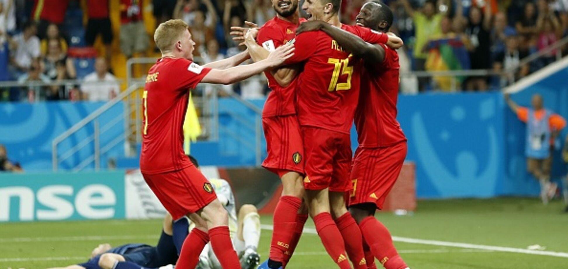 ЧС-2018: збірна Бельгії повторила історичне досягнення колишніх чемпіонатів світу