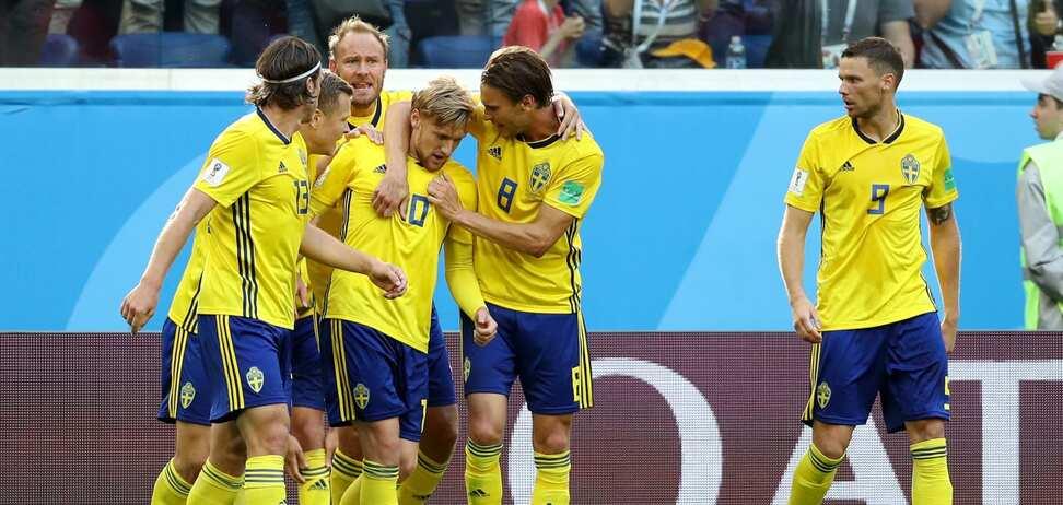 Гол Форсберга решил судьбу матча Швеция – Швейцария: онлайн-трансляция 1/8 финала ЧМ-2018