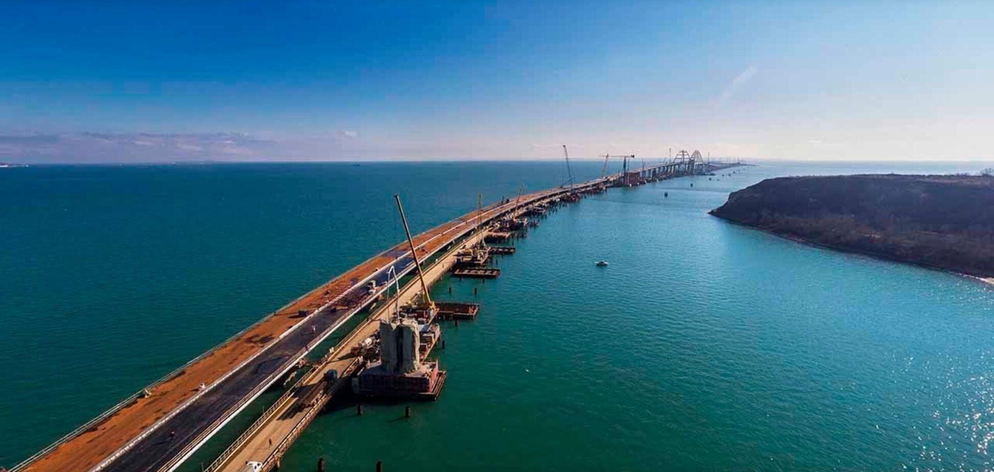 Озвучено нову загрозу для Керченського мосту