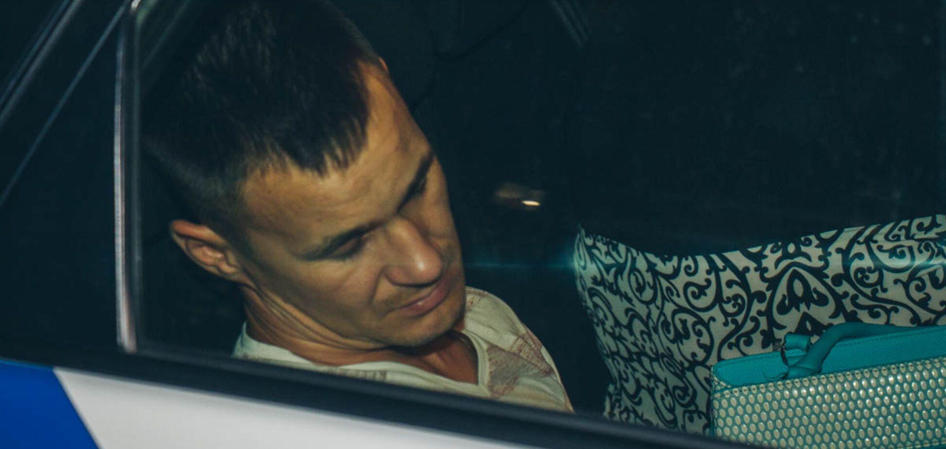 У Києві п'яний без прав розбив 7 авто і заснув у машині поліцейських