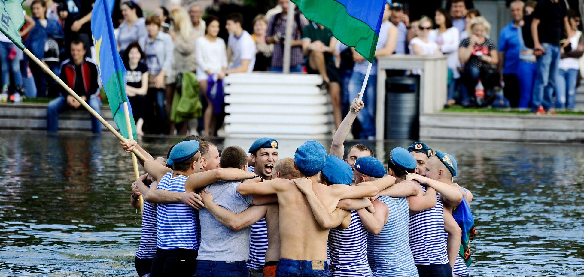 'Расплескалась синева': как позорно празднуют День ВДВ в России