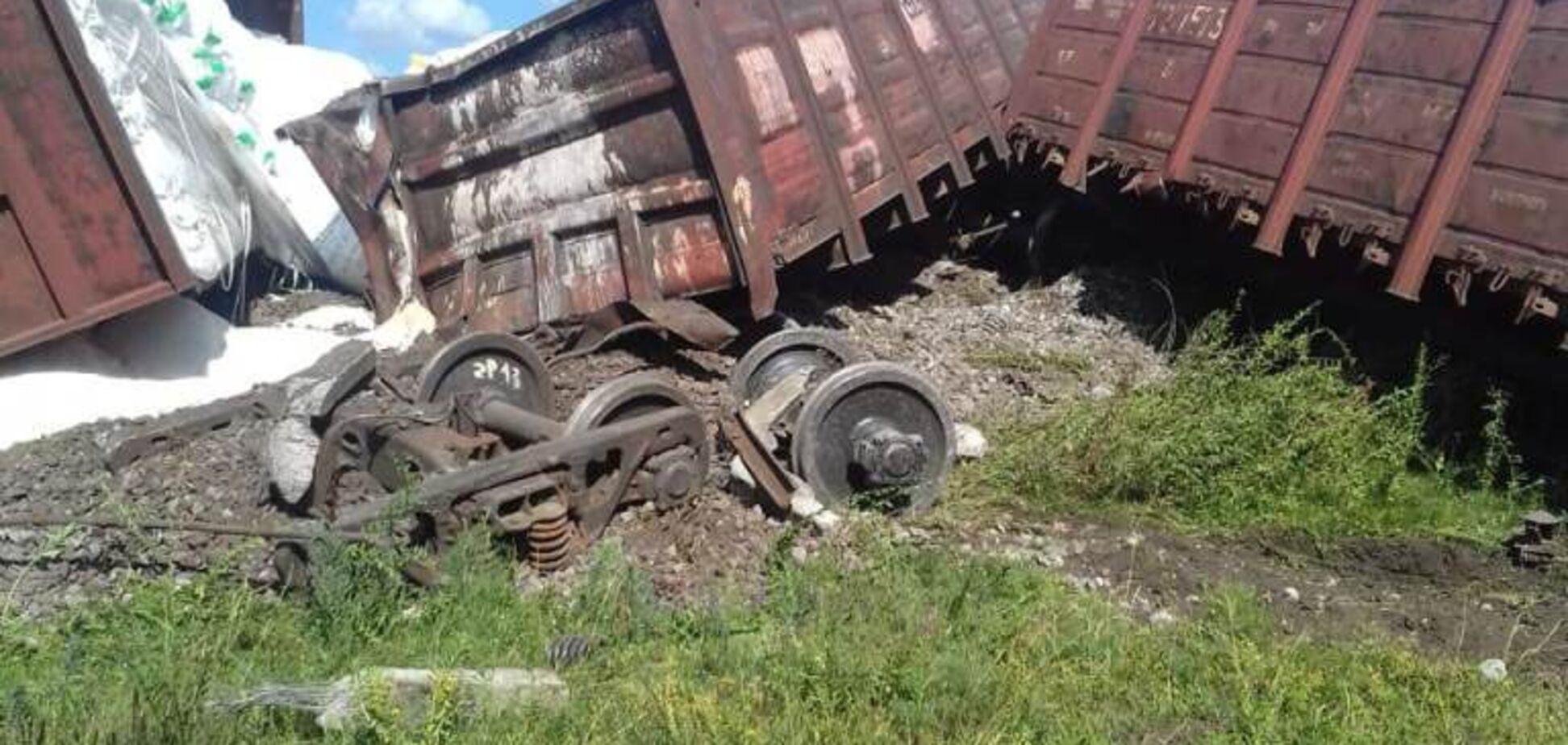 Авария поезда в Одесской области: первые версии ЧП