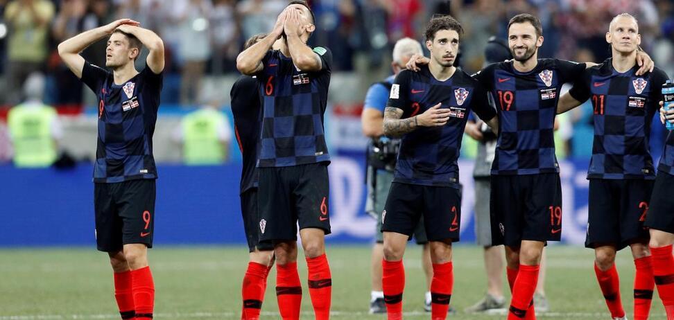 Футболісти збірної Хорватії не витримали запитань росЗМІ