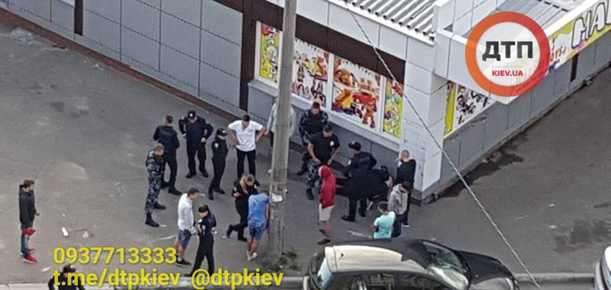 В Киеве мужчина устроил стрельбу из травматического оружия