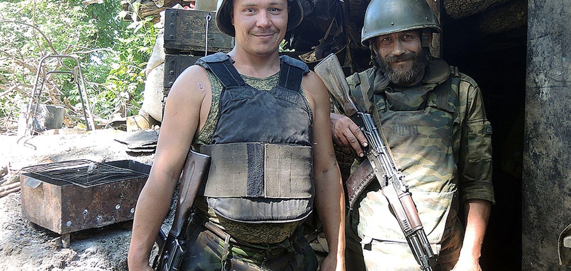 'Ежики в тумане': росСМИ 'засветили' передовую позицию 'ДНР'