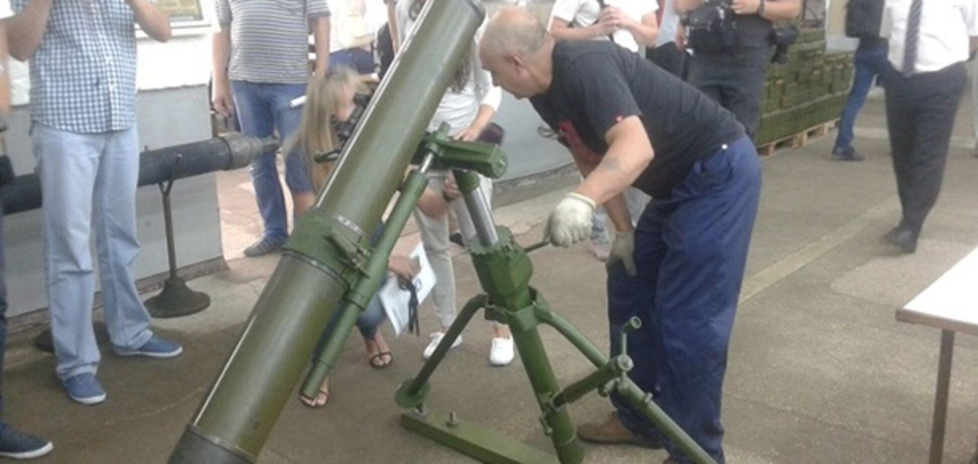 120-мм миномет 'Молот'