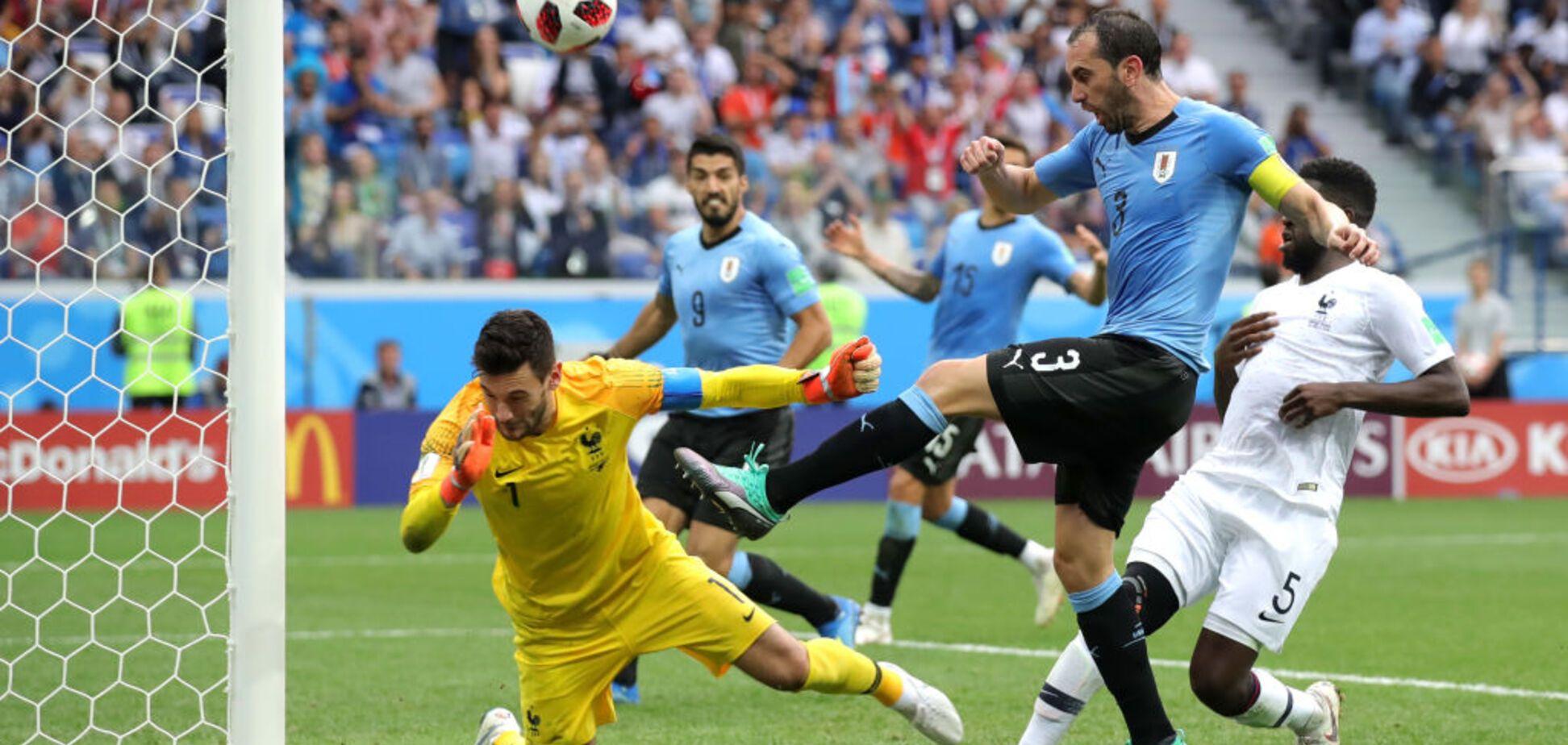 Уругвай - Франція: огляд матчу 1/4 фіналу ЧС-2018