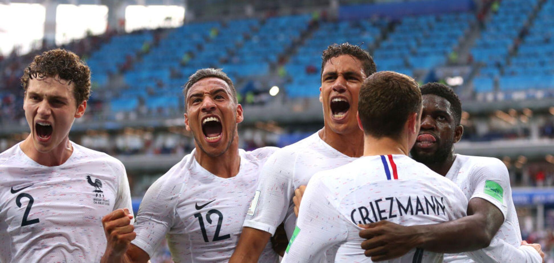 Франція легко вийшла у півфінал ЧС-2018
