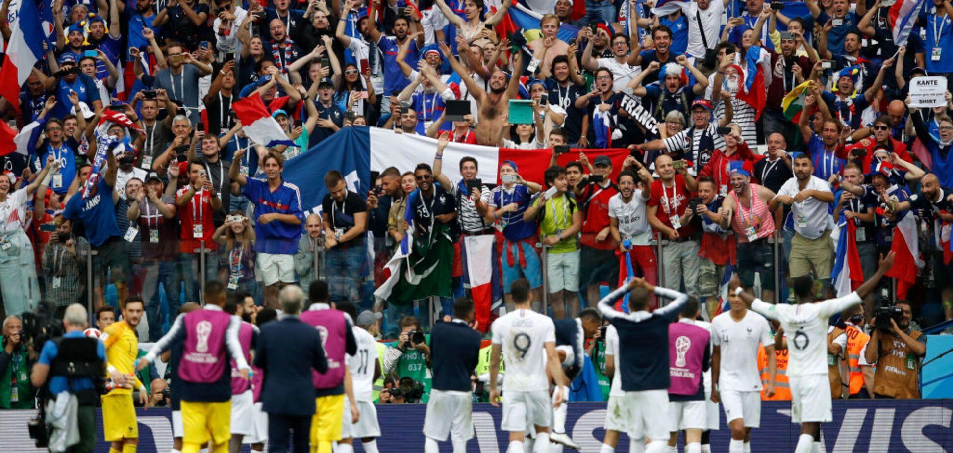 Уругвай - Франція: відео голів 1/4 фіналу матчу ЧС-2018