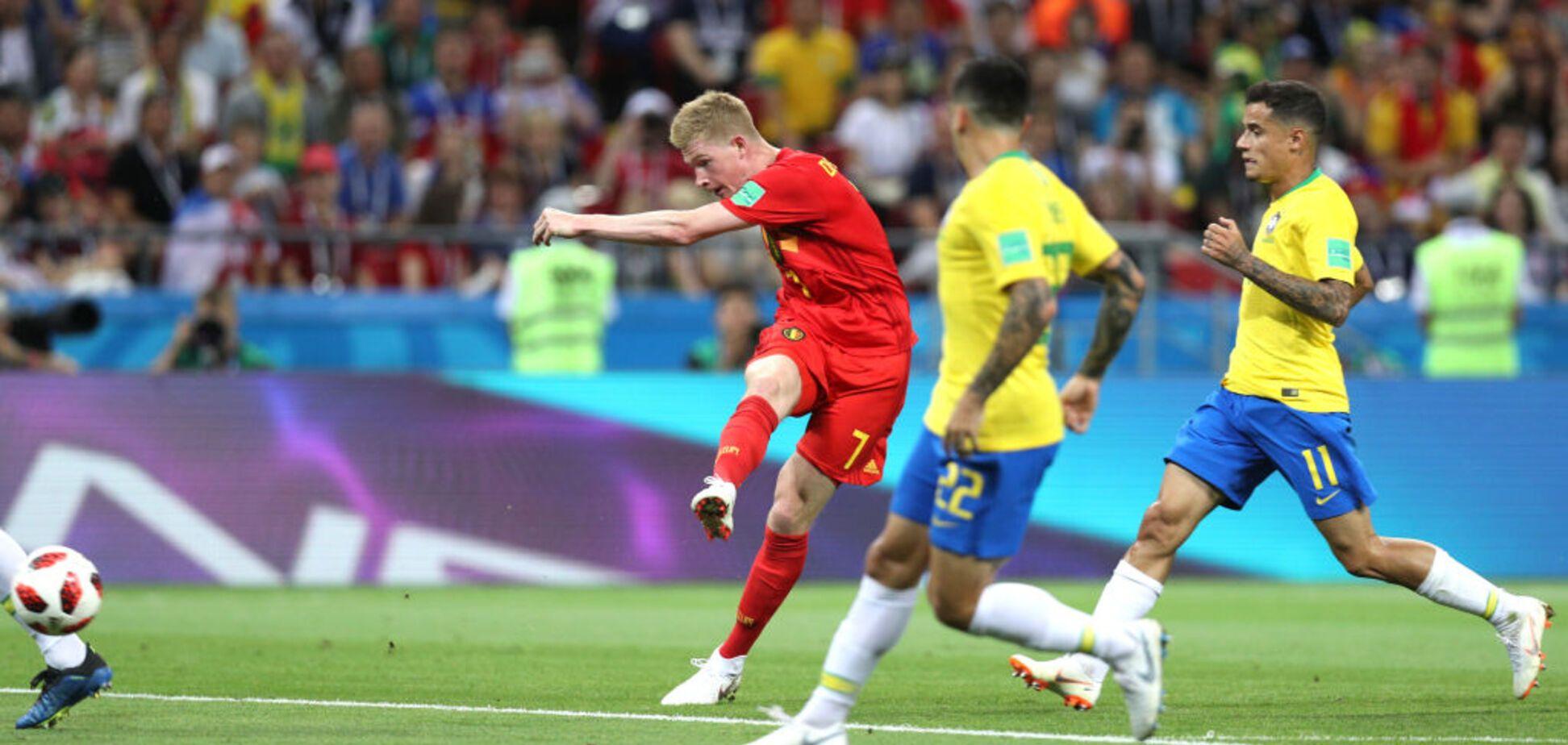 Бразилія - Бельгія: відео голів чвертьфіналу ЧС-2018
