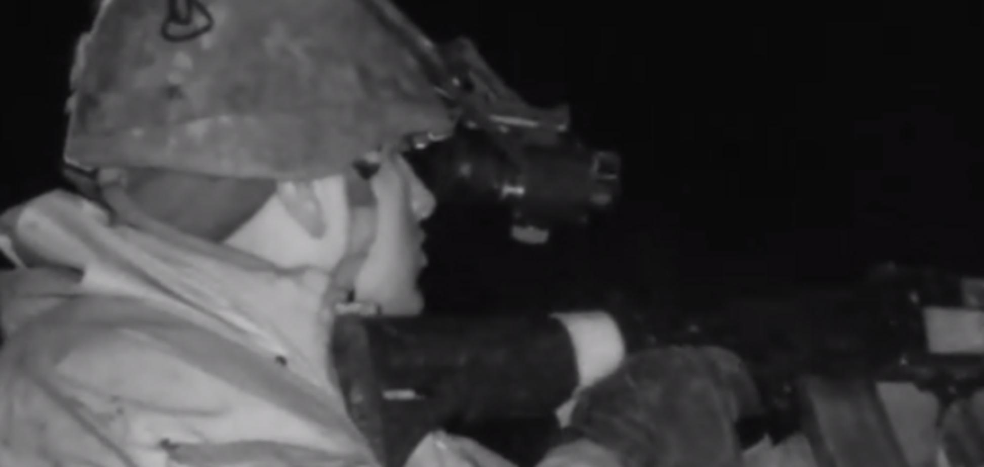 'Є!' На відео потрапив влучний постріл українського снайпера на Донбасі