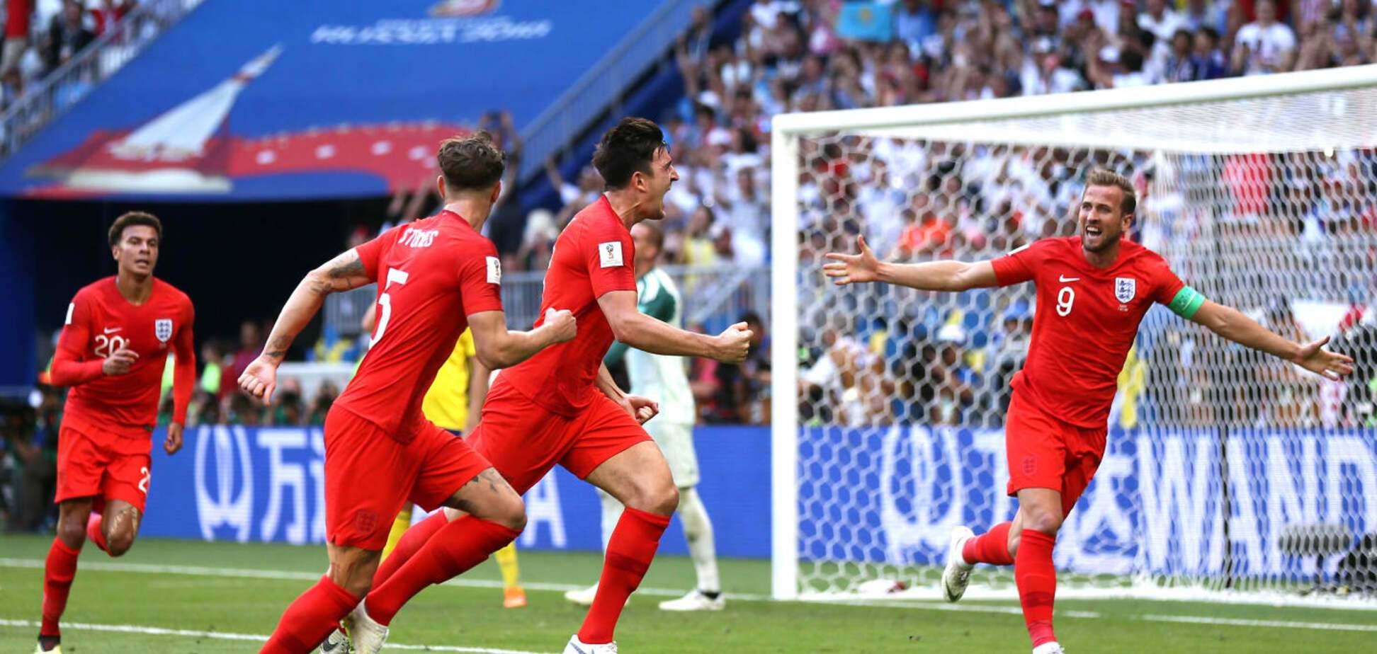 Два голи вистачило англійцям в матчі Швеція - Англія: онлайн-трансляція 1/4 фіналу ЧС-2018