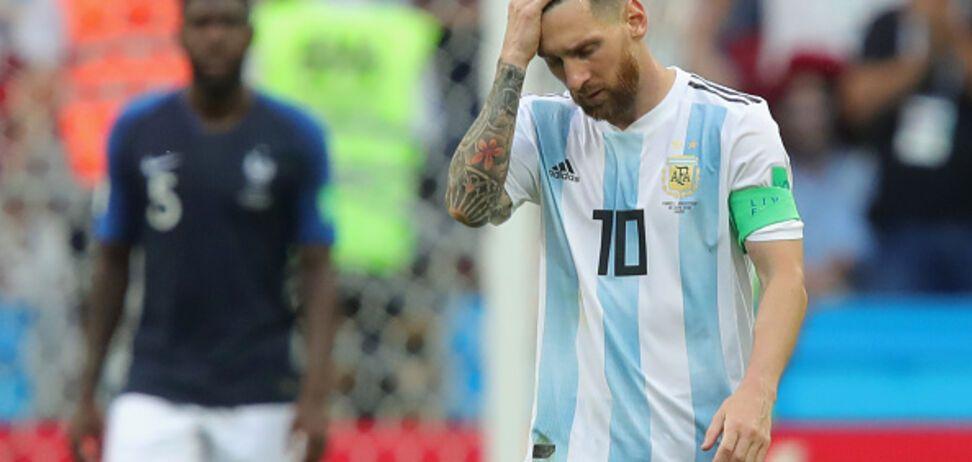 Футболист умер, пытаясь скопировать Месси