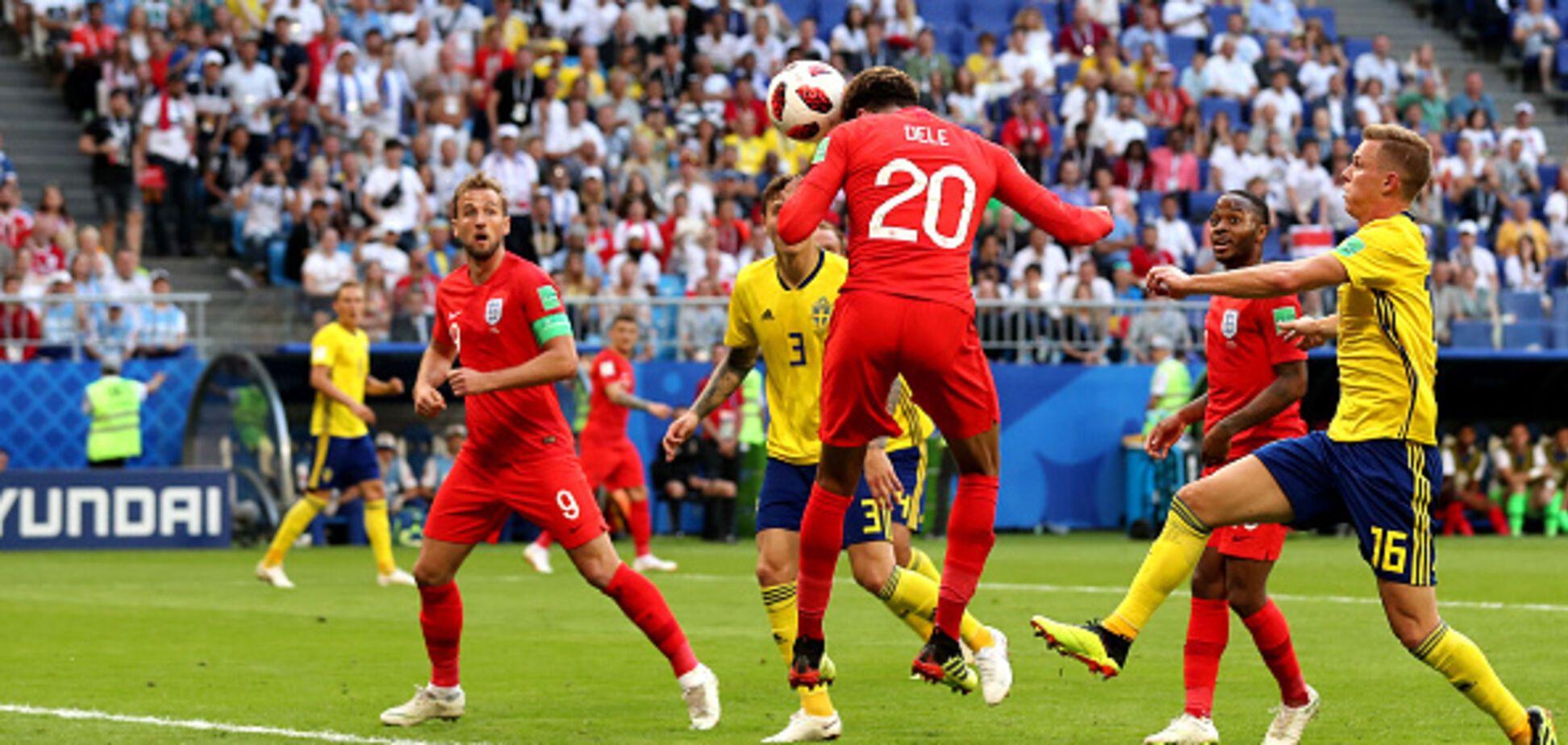 ЧС-2018: Англія в третій раз в історії вийшла в півфінал