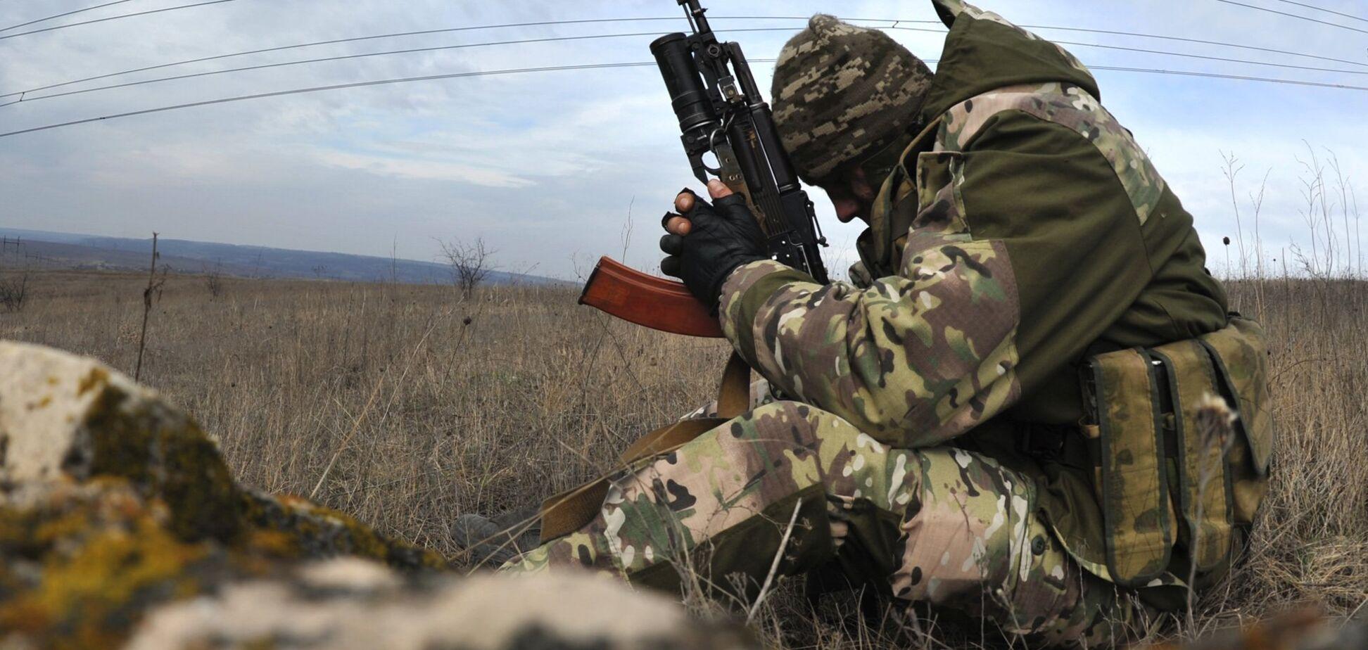 Террористы неудачно атаковали ВСУ
