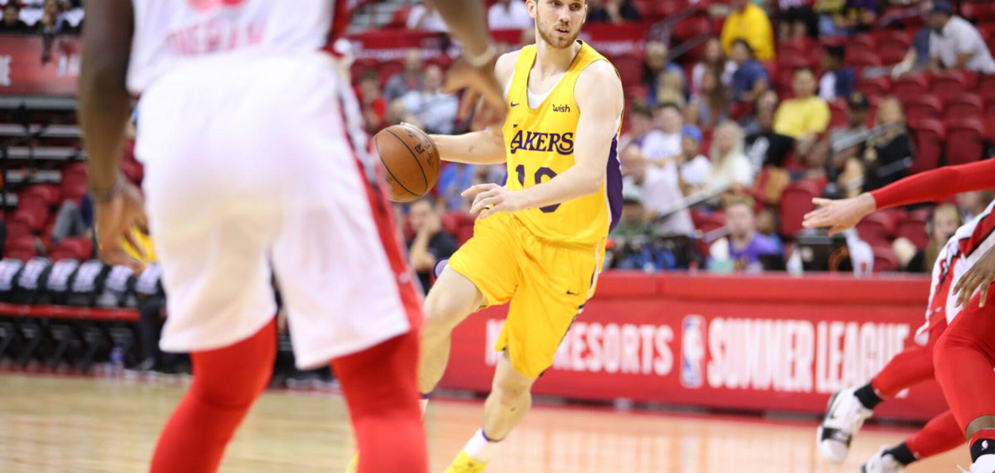 Михайлюк выиграл украинское дерби в НБА
