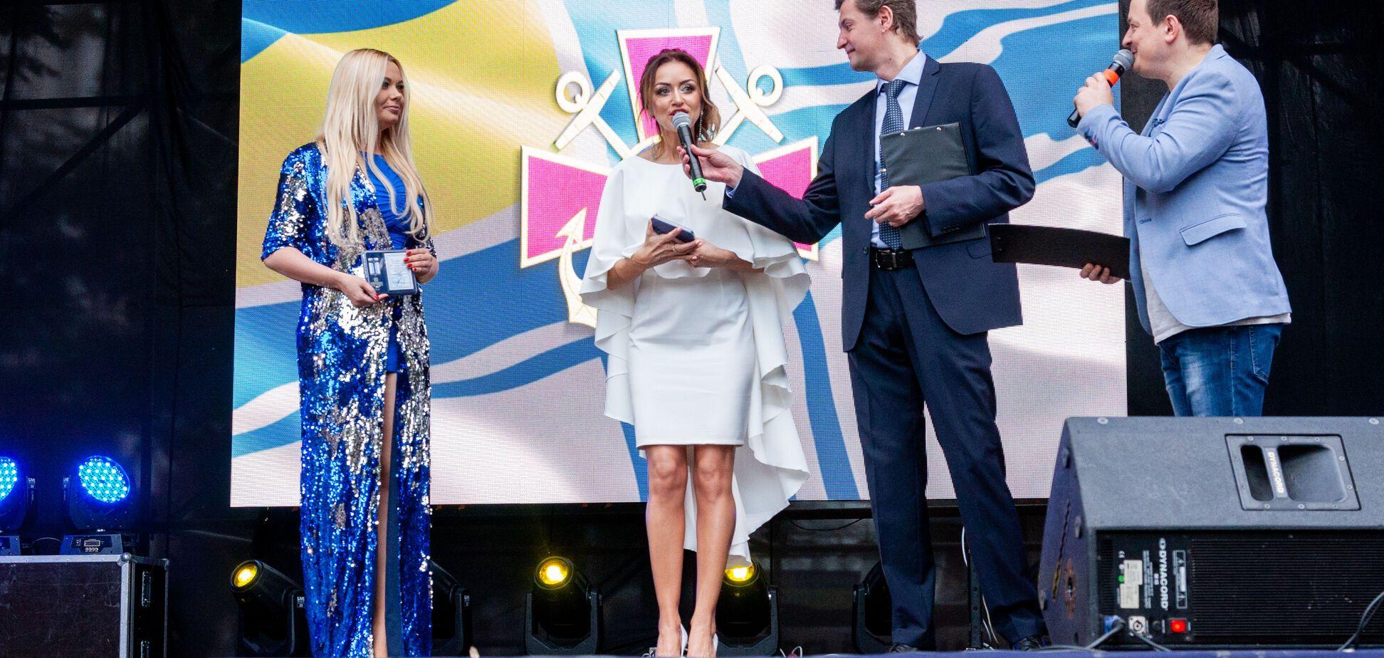 VALEVSKAYA получила награду от ВМС Украины