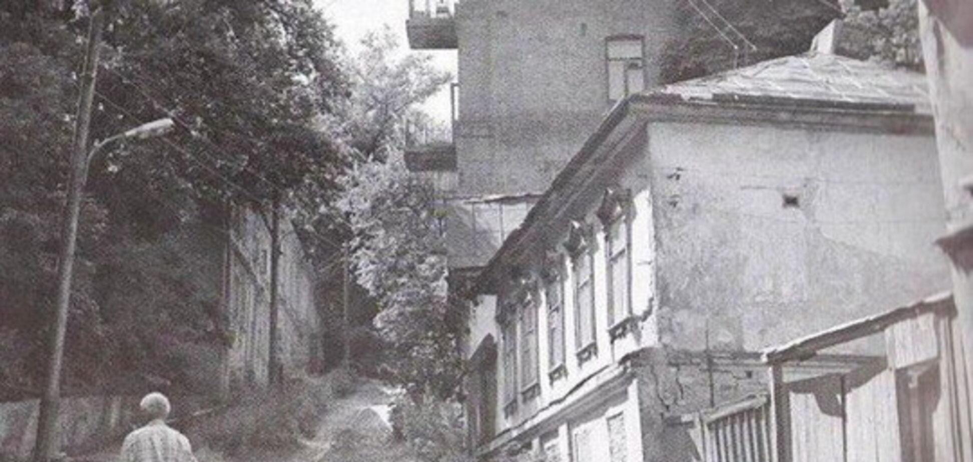 В Киеве есть улица-призрак: опубликованы раритетные фото