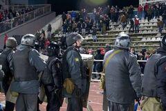 Российские вандалы разгромили стадион на матче Лиги Европы: есть задержанные