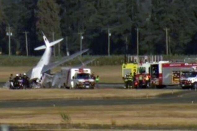 У Канаді розбився літак: подробиці НП