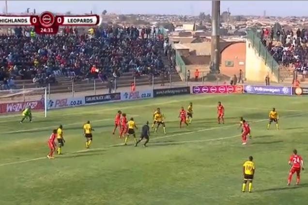 Удар року! Футболіст з ПАР забив фантастичний гол шведою - опубліковано відео
