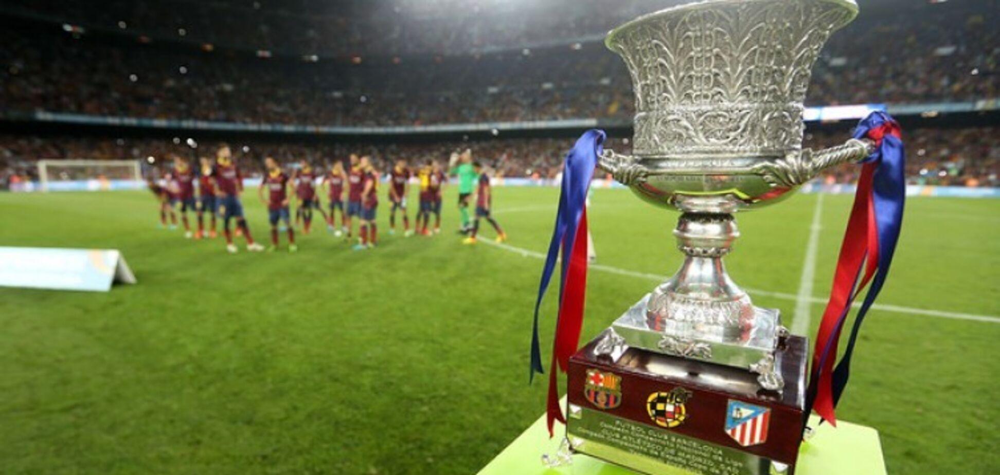 Де сьогодні дивитися Суперкубок Іспанії: розклад трансляцій