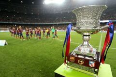 Где сегодня смотреть Суперкубок Испании: расписание трансляций