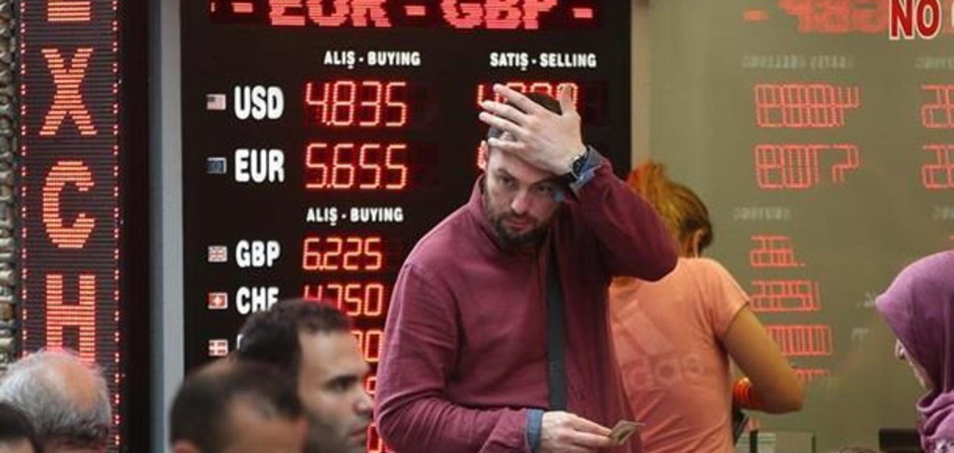 Ударит по рынкам: миру предрекли глобальный кризис из-за турецкой лиры