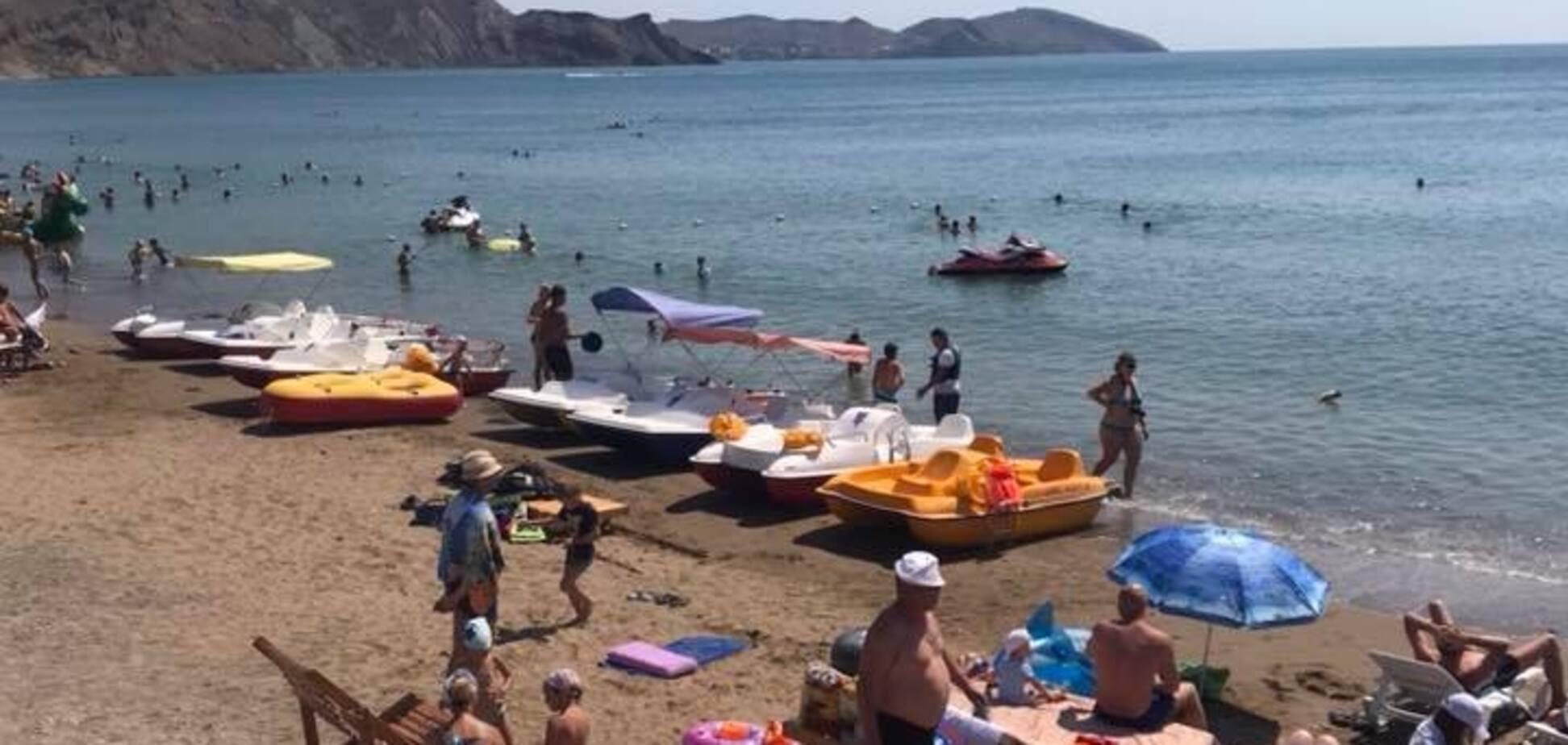Це ганьба! У мережі показали, як Росія знищує курорт у Криму. Фото й відео