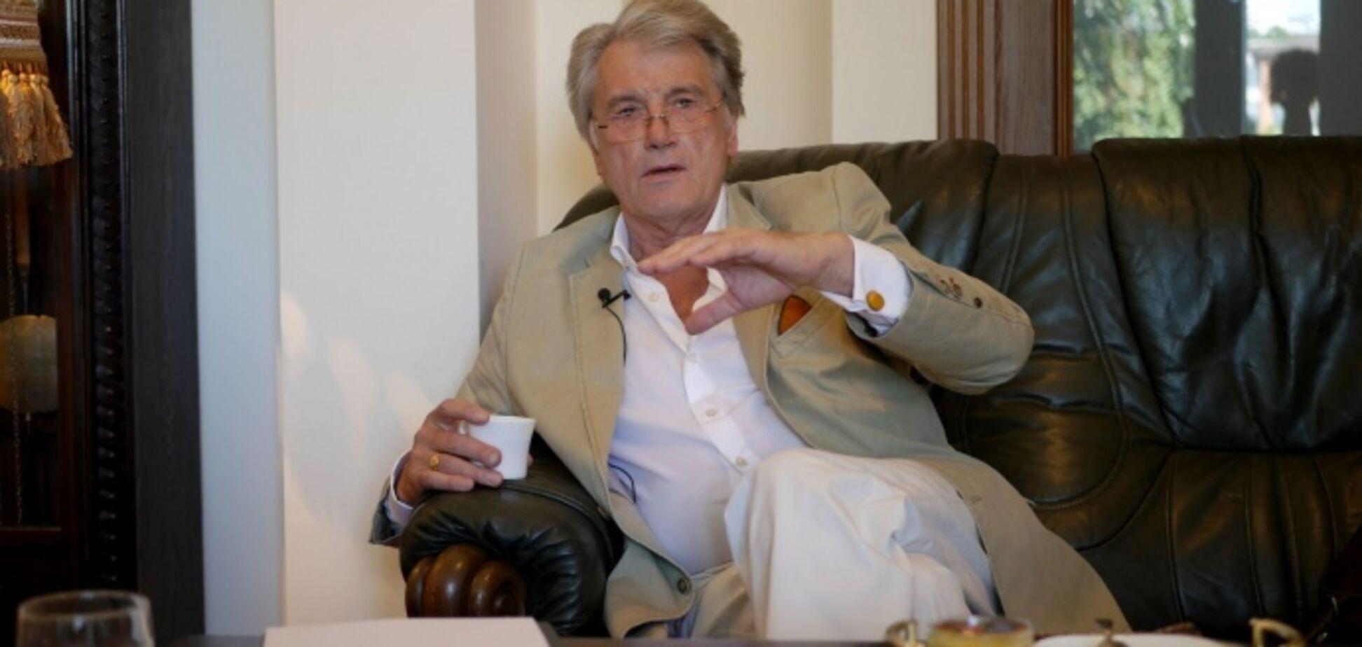 Шутки в сторону: Ющенко разгромил 'президентов' Зеленского и Вакарчука