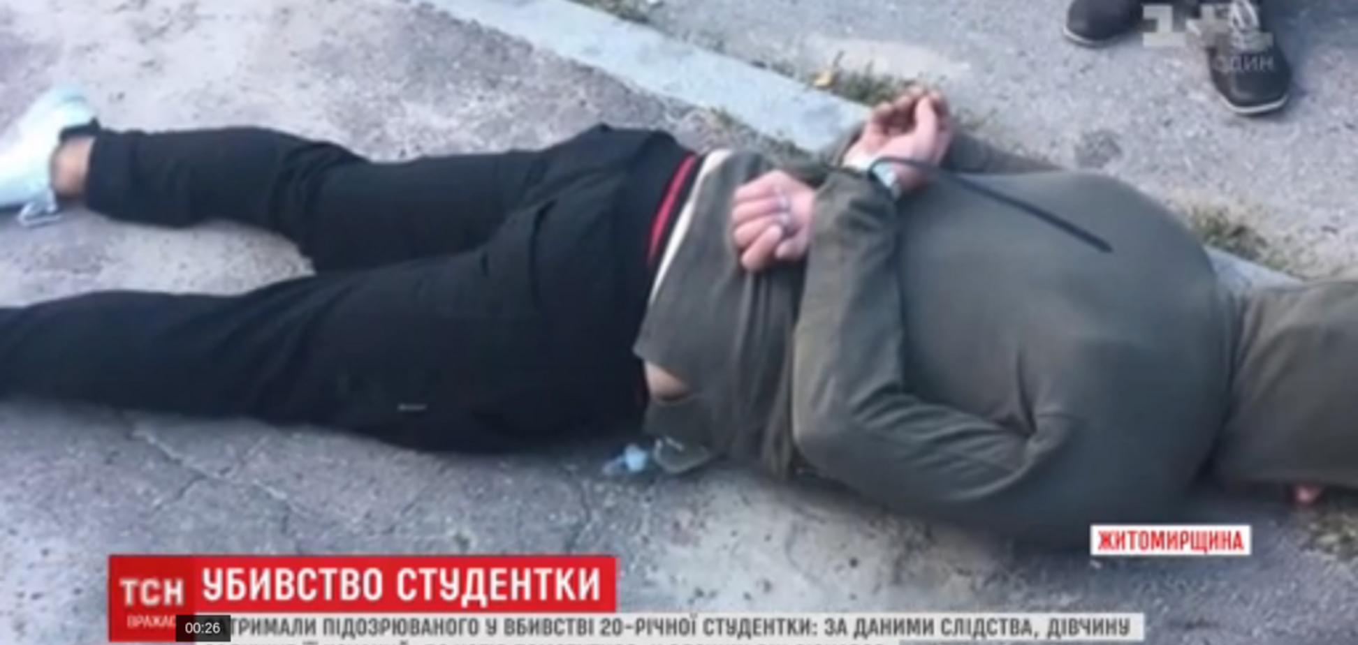 Душив руками, потім скотчем: з'явилися страшні подробиці вбивства студентки в Житомирі