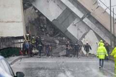Обрушение моста в Генуе: власти назвали причину ЧП
