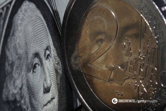 Национальный банк Украины зафиксировал официальный курс гривни по отношению к доллару на отметке 24,49 грн/$