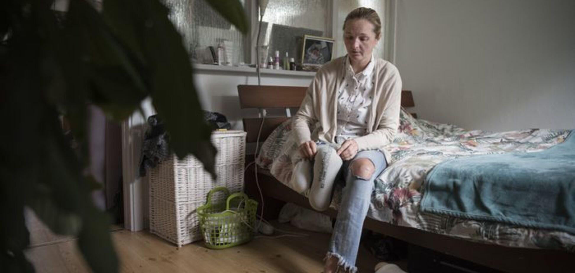Швеция выдворяет украинку, потерявшую ногу в теракте в Стокгольме