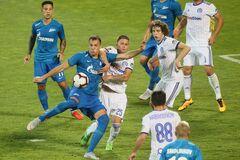 'Зеніт' видав фантастичний матч у Лізі Європи, відігравшись з 0:4