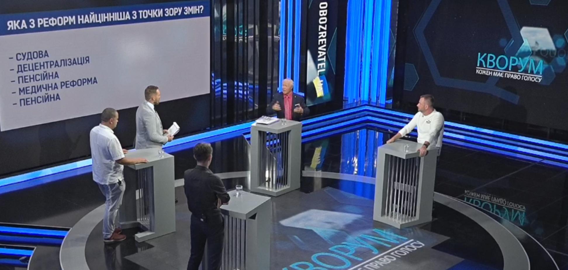 Независимость украинцев: Социальная политика