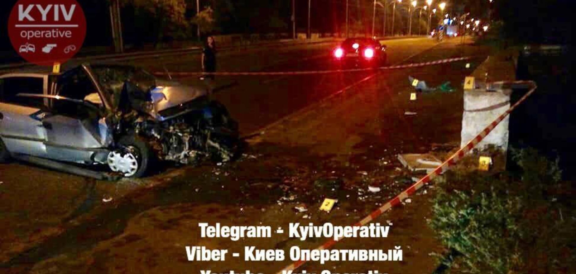 У Києві таксист влаштував смертельну ДТП: перші фото з місця НП