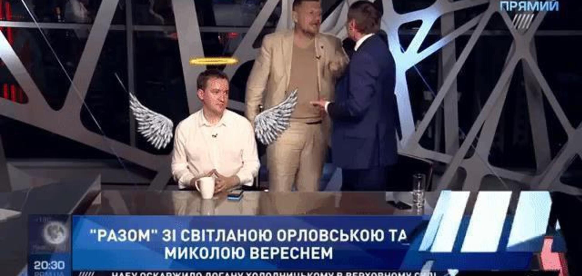 'Просто медитуй!' Мережа призначила 'героя' бійки нардепів на ТБ