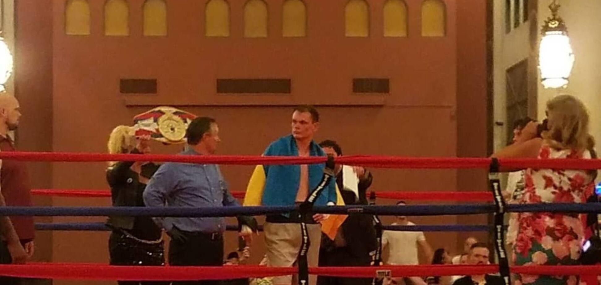 Український боксер виграв чемпіонський бій у США