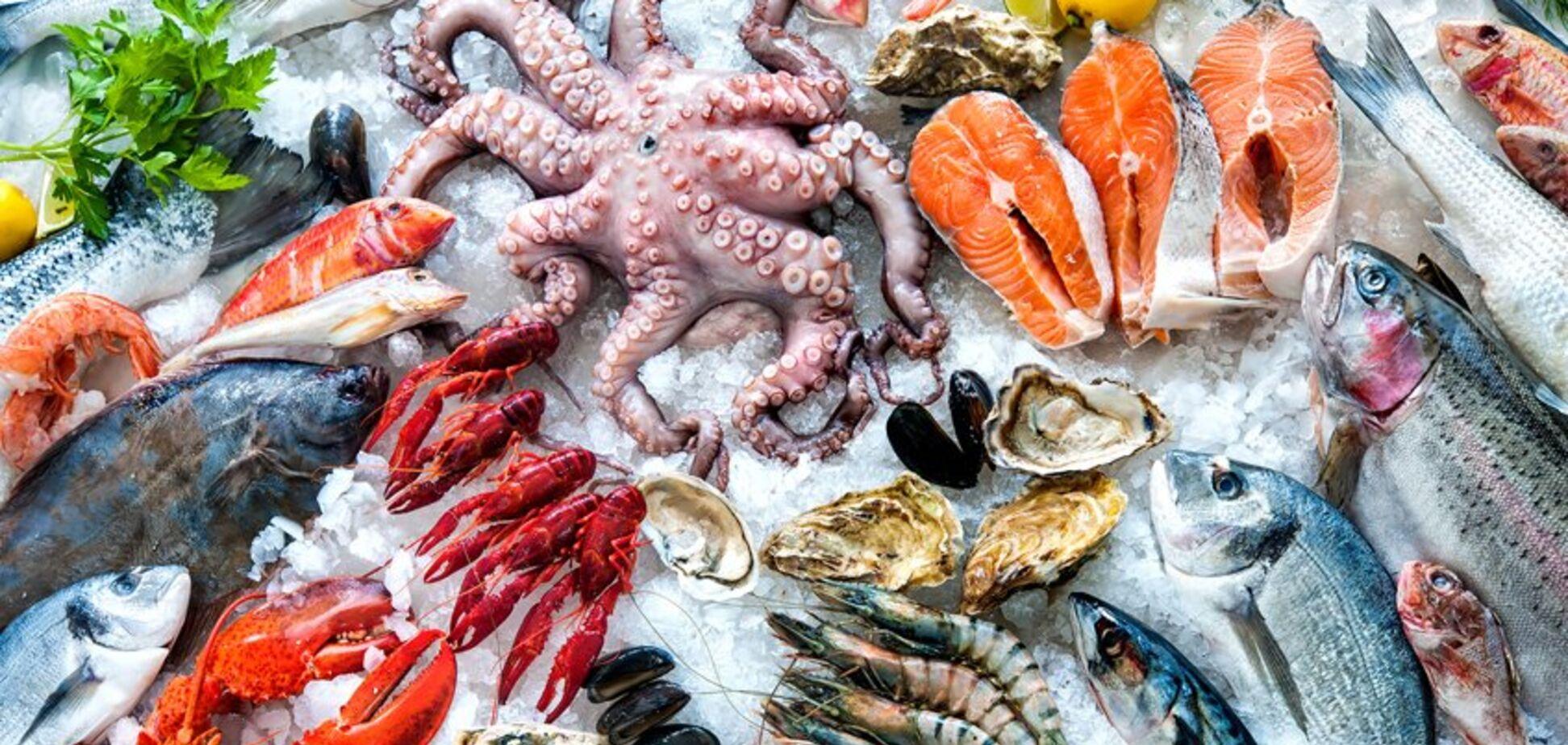 Названы самые опасные для здоровья морепродукты