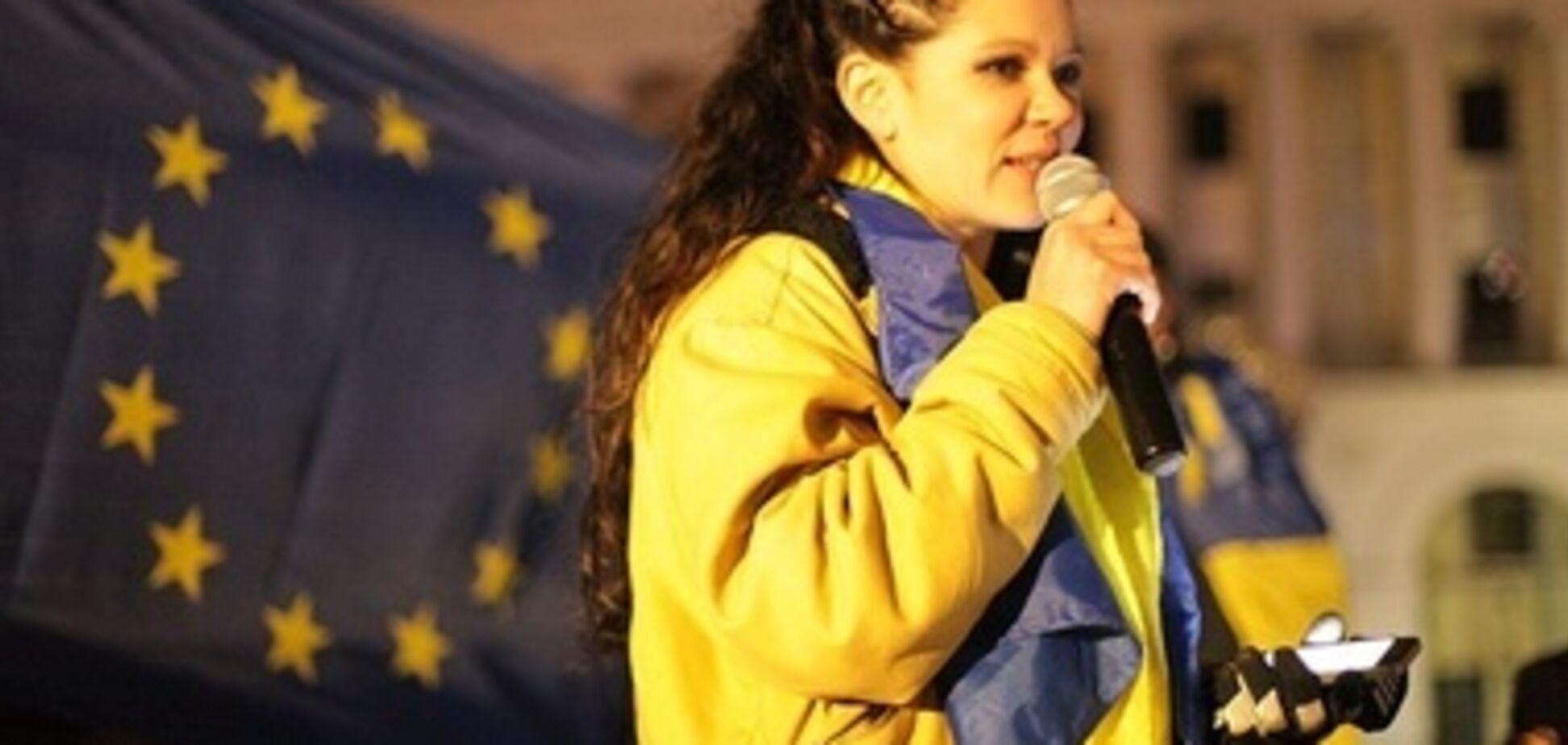 Руслана написала письмо узнику-украинцу в России: о чем в нем речь