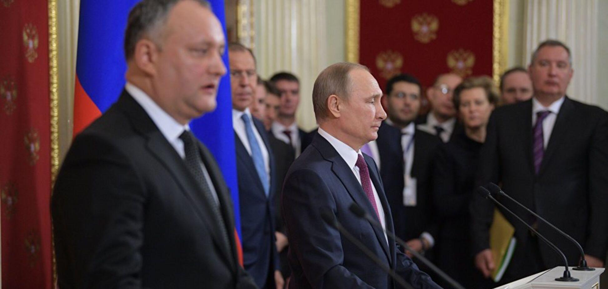 Испытывают в Молдове: раскрыт новый план Кремля по Донбассу