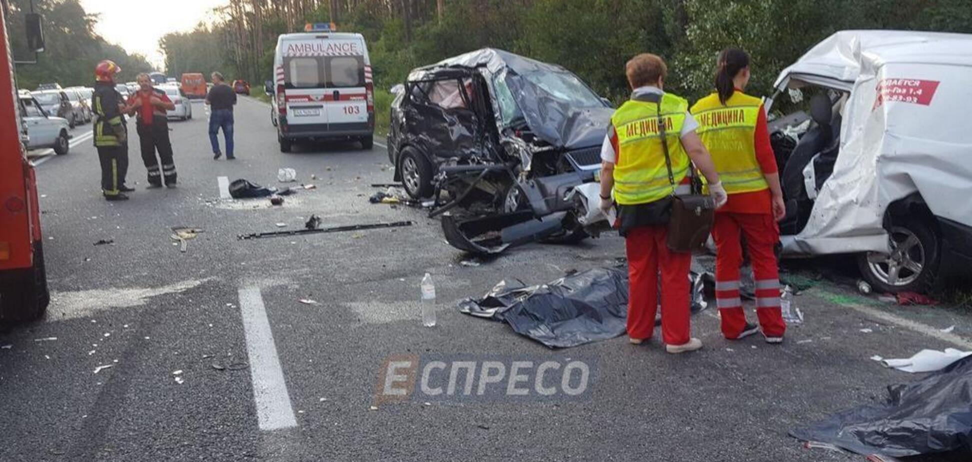 Смертельное ДТП под Киевом: раскрыты детали масштабной автокатастрофы